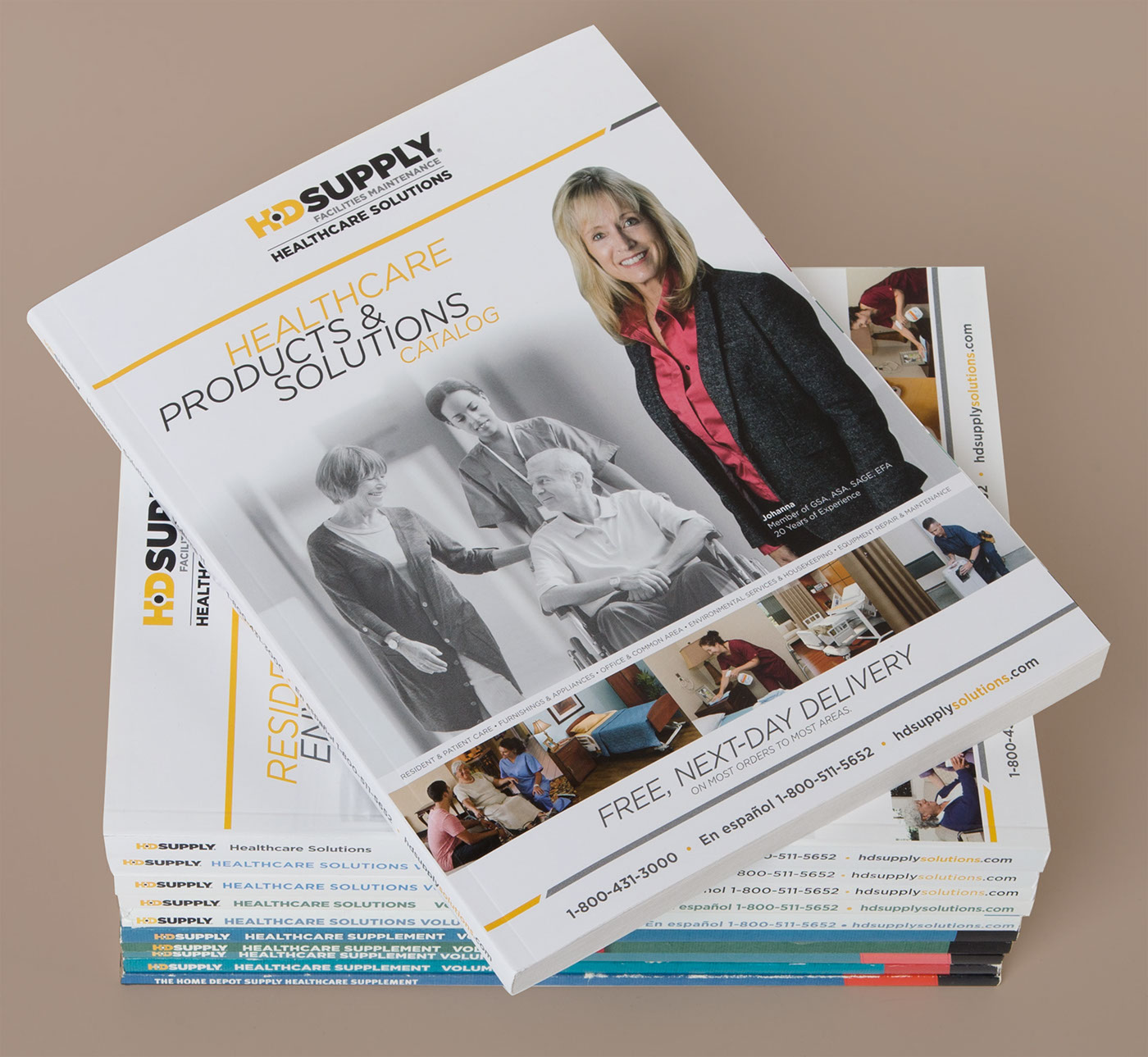 HD Supply Healthcare Catalogs on Behance