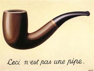 Magritte's the Treachery of Images